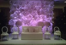 Paper Flower Walls! / One of our favorite new #eventdesign trends.! / by Posh & Private Event Design
