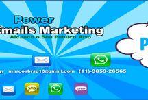 Email Marketing R$: 9,90 / Email Marketing R$: 9,90  Alcance Se Alvo Publico  Site: Power-Emails.Com  Skype: Power-Tecnology  WattsApp: 11-9859-26565  Email Contato: marcosbrsp10@gmail.com
