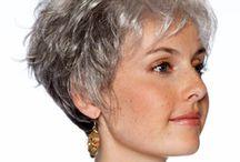 Hair colour grey toning