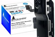 SpyCrushers Micro Digital Video Recorder, Camera & Webcam / SpyCrushers® CR203 Micro DVR, Camera & Webcam - New & Improved Model - Supports Up To 32GB Micro SD Card - 720x480 Quality Digital Video - Plug & Play Functionality For Mac's and PC's, No Product Software Needed - 90 Minutes Continuous Recording Time - Easy To Follow English Operation Manual
