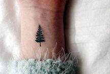 Liten tatuering