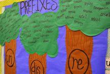 Prefixes / by Kim