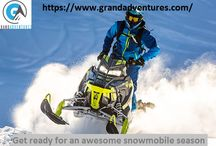 Snowmobile / Snowmobiling Colorado adventures, winter activities at Grand adventures. We provide Snowmobile rentals in Colorado. Start planning day trips from Denver with us!