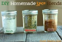 Spices & Sauces / Tips & recipes for homemade spices, sauces & marinades