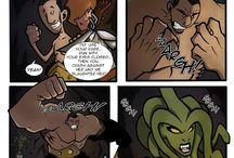 Comics Strip