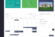 Online Platforms / Screenshots from Online Platforms that we build for various niche industries.