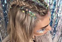vestival hair ideas