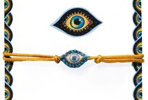 evil eye * all seeing eye * bracelet