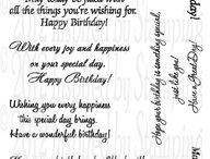 Blank Card Sayings & Wished