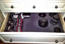 Camera storage ideas