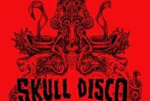 skull & skeletion & wallpaper