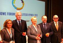 Wspólny rynek, wspólna sprawa / Michel Barnier, komisarz europejski ds. rynku wewnętrznego i usług, był gościem tegorocznego Krajowego Forum Jednolitego Rynku.