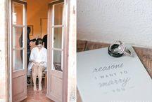 Erica wedding in 'La Foce'