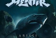Menhir Abissi / cover of CD