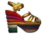 Shoe icons of the 20th century / Levine, Ferragamo, Vivier, Blahnik...