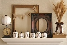 Fall home decor / Gorgeous fall home decor, DIY projects, and crafts. / by Carrie Spalding @ Lovely Etc.