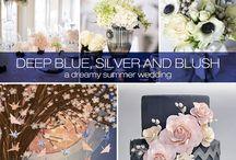 Mood Board for Wedding Website