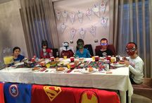 Marvel Heros Party / You may make your kids happy