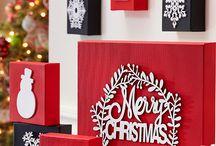 Happy Holidays / Holiday crafts, holiday decor, diy holiday projects, holiday recipes. Christmas crafts, New Year's decor. Homemade Christmas decorations.