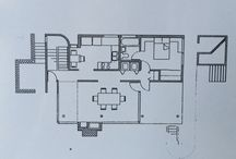 Richard Meyer Smith House. School project. / Drawings and illustrations of school project.