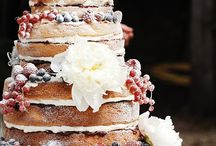 naked wedding cakes / Because there's something incredibly tempting about seeing the jam inside... I adore naked cakes! / by English Wedding Blog