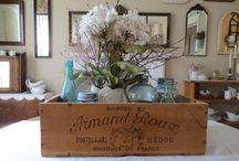 Flower box fillers