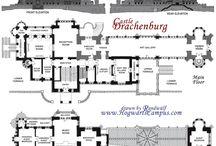Castle floor plan