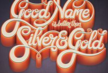 | Type & Lettering