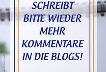 Schreibt mehr Kommentare in die Blogs / Dies wird ein Appell an alle, endlich wieder mehr Kommentare auf Blogs zu schreiben. Dieses Thema beschäftigt mich schon eine Zeit lang. Immer wieder stelle ich fest, dass die Kommentare in Blogs deutlich weniger werden. Kaum jemand würdigt die Arbeit der Blogger, obwohl diese für ihre wertvollen Beiträge nicht nur einen Applaus, oftmals sogar Standing Ovations verdient haben. https://www.socialmedia-betreuung.de/mehr-kommentare/