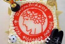 τούρτα Ολυμπιακός