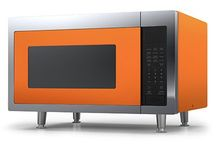 Big Chill Microwave / Big Chill's Retro Microwave is made with stainless steel, has recessed glass turntable,1200 watts of cooking power and non-sensor reheat, cook and defrost cycles. Available in any of our 200 custom colors!