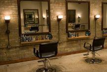 Brick Slips - Barber, Salon & Hair Dresser Inspiration