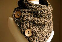 Haken / Sjaal met knopen