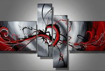 Abstract oil paintings 1
