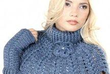 Tuniki, bluzki, swetry / dzianiny