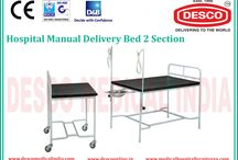 Obstetric Delivery Bed Suppliers India / DESCO is renowned manufacturer and suppliers of Obstetric delivery beds that are designed to ease the trauma of birth by providing ease and support throughout the stages of delivery. They increase the comfort of both the mother and nursing staff. For more details visit our website.