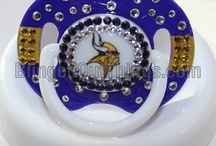 Minnesota Vikings Baby Fun / Minnesota Vikings Baby Pictures, Ideas, Showers, & Fun Products / Merchandise