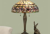 """Tiffany Lighting / A mixture of our Oaks and Interiors 1900 Tiffany Lights available on our website. Most items are available in their """"families"""" with matching floor/table/wall lights etc! The attention to detail in these items is impeccable!!! Gorgeous addition to any home!"""