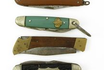 Pocket knifes old and new / by sheryl stow