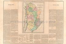 Argentina Antique Maps