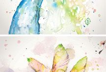 Water colour inspiration
