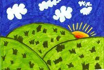 Child art ideas / by Karen Crozier