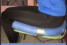 pool noodle seat for sitting