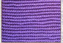 Узоры на машине / Машинное вязание