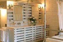 meuble de salle de bain ou chambre