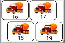 les moyens de transport, le chantier
