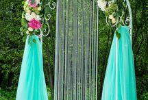свадьба арки