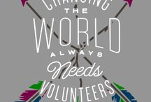 Volunteering / There are many reasons why people start volunteering. Some just have time on their hands and want something to do, others want to help others. What ever the reason may be - in the end you will feel a sense of pride for giving your time and reward for the good you do for others. #bewhoyouwanttobe #bethebestversionofyourself