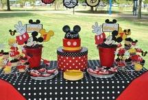 Mickey / Ideias decoração festas