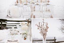 Winter wedding / Styled shoot inspiration
